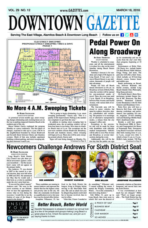 Downtown Gazette  |  March 25, 2016
