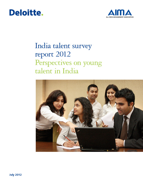 India Talent Survey 2012