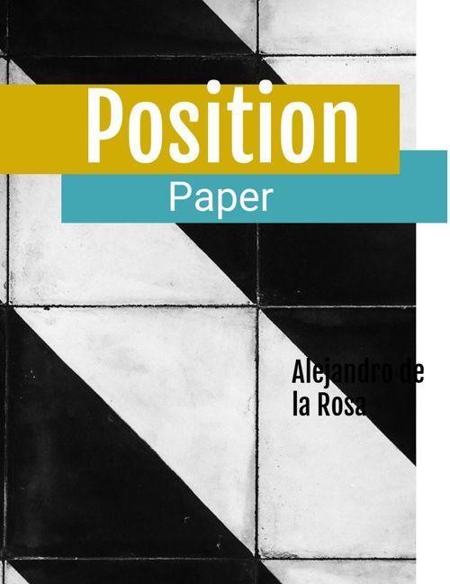 position paper alex