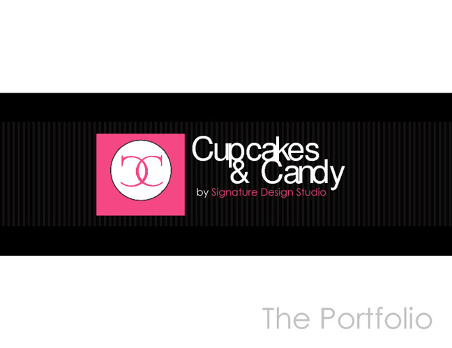 Cupcakes & Candy Stylish Candy and Dessert Buffets