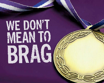We Don't Mean to Brag...