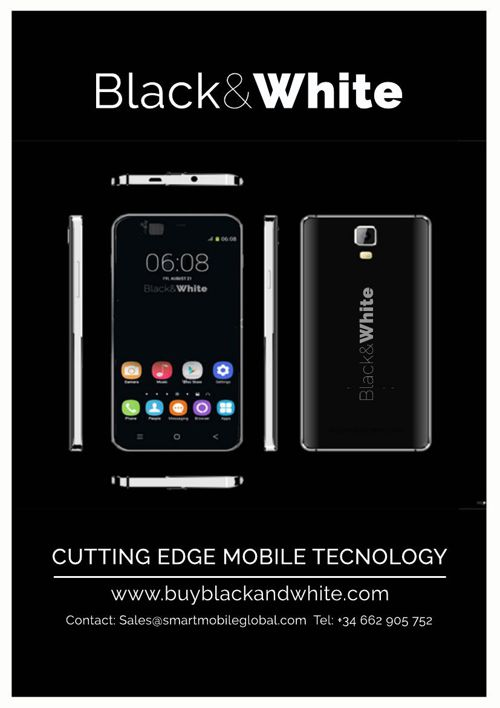 Copy of Black and White Mobile Technology