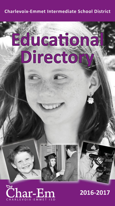 Char-Em ISD Educational Directory 2016-2017