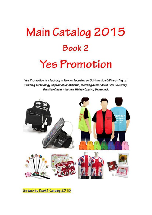 Main Catalog 2015 Book 2 Yes Promotion
