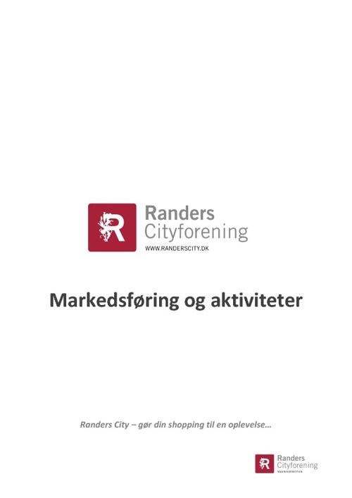 Markedsføring og aktiviteter 2012