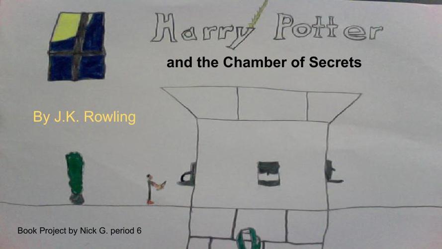 Nick G's Flipbook -Harry Potter Chamber of Secrets