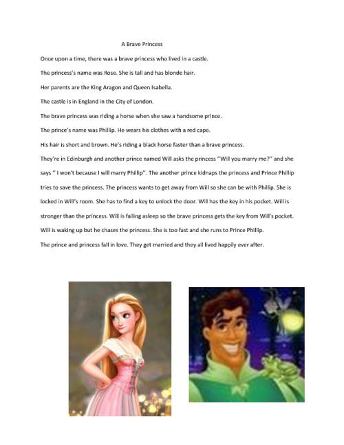 The Brave Princess