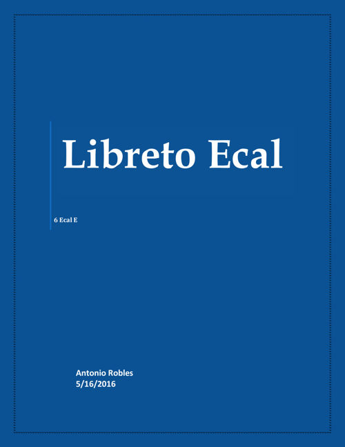 Libreto Ecal 6