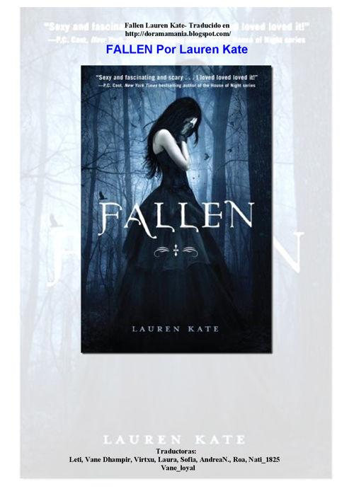 1-Lauren Kate -.Fallen