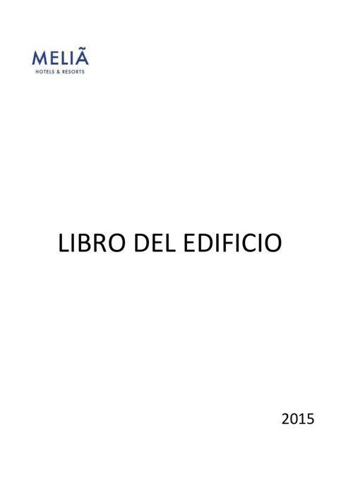 LIBRO DEL EDIFICIO