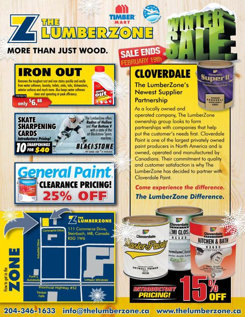 The LumberZone Flyer February 19 End