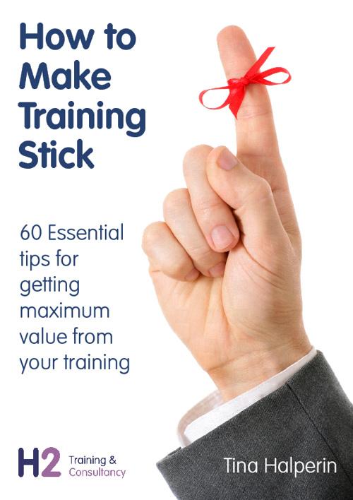 How to Make Training Stick