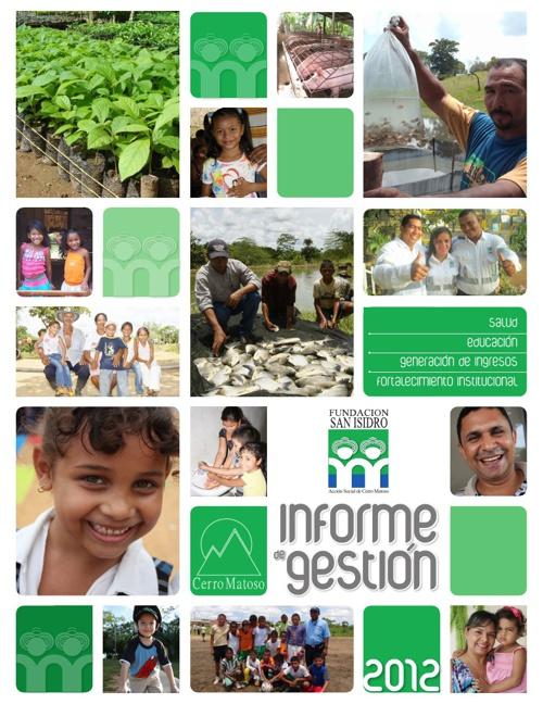Informe de Gestión Fundación Sán Isidro
