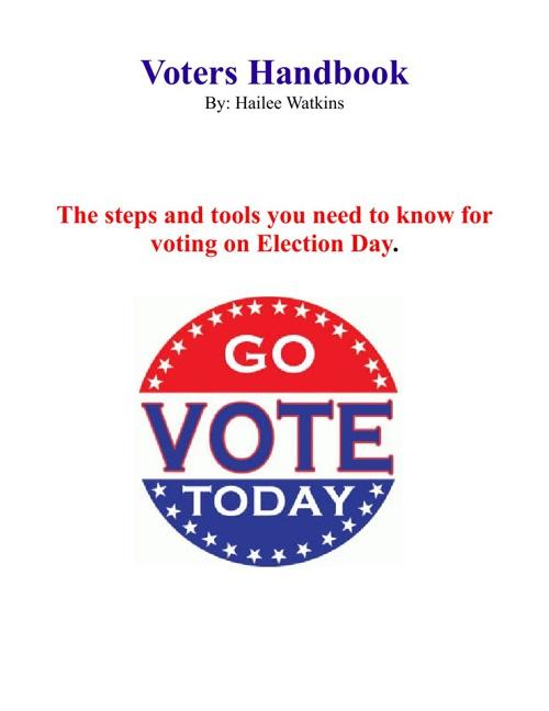 Voter's Handbook