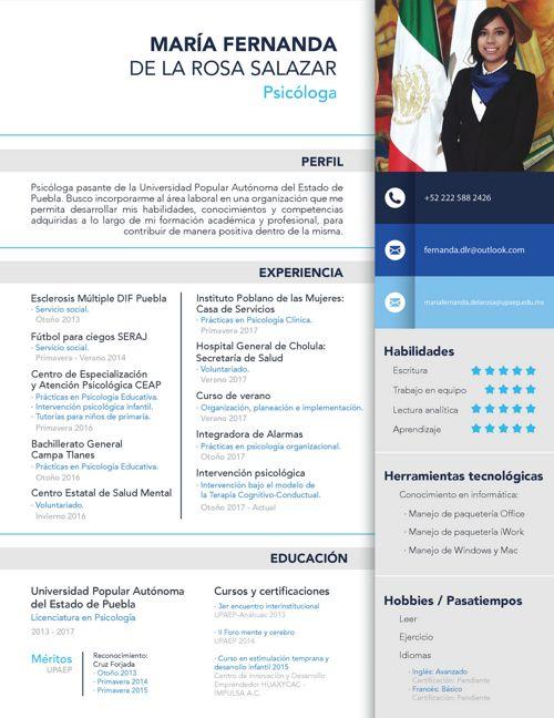 CV Fernanda de la Rosa