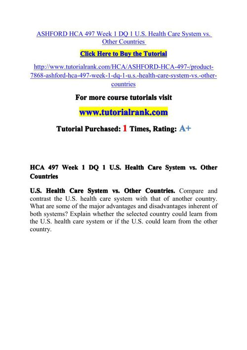 ASHFORD HCA 497 Potential Instructors / tutorialrank.com