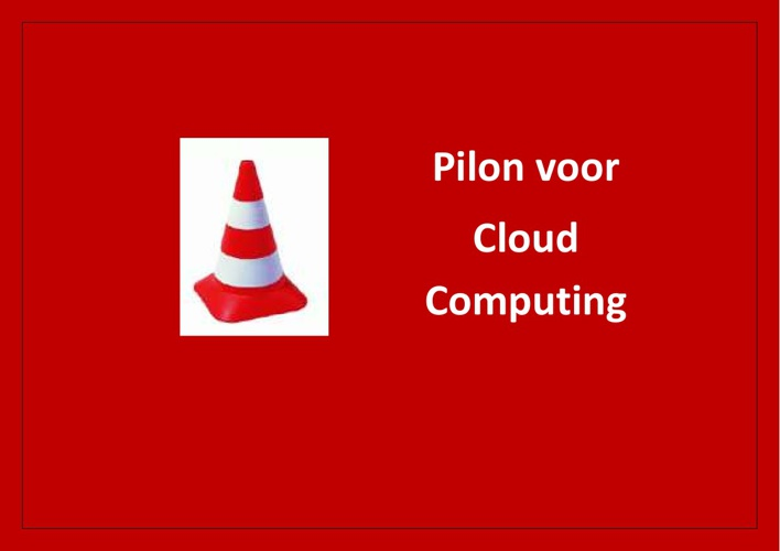 Pilon voor Cloud Computing