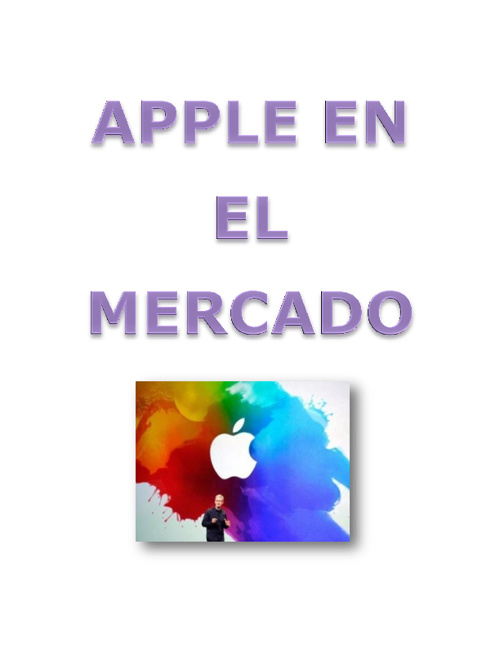 APPLE EN EL MERCADO