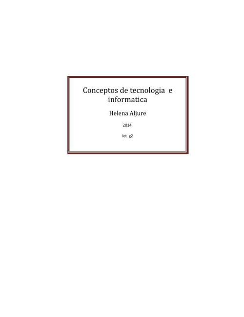 (392329486) Conceptos de tecnologia  e informatica
