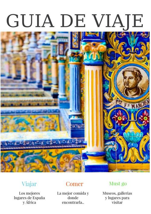 Guía de Viaje España y Marruecos