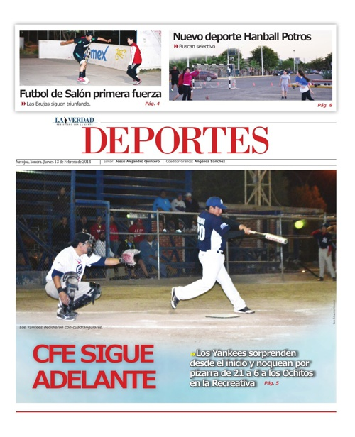 DEPORTES 12 FEBRERO 2014