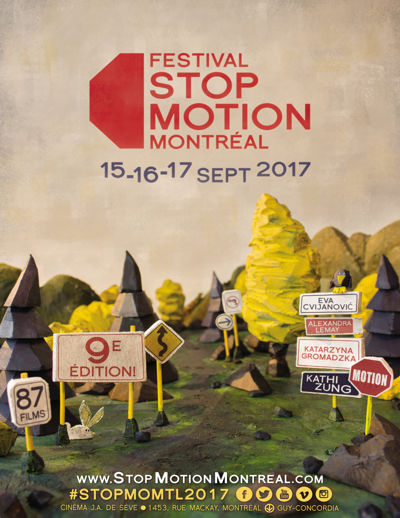 Festival Stop Motion Montreal 2017 - 9 edition