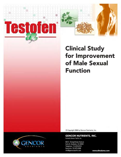 Testofen Libido Study