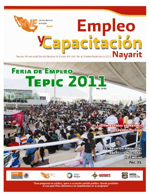 Revista Informativa SNE - Capacitacion y Empleo Nayarit