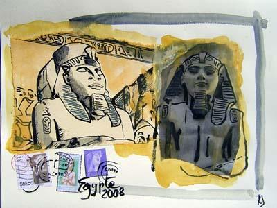 Copy of Carnet de Voyage Egypte