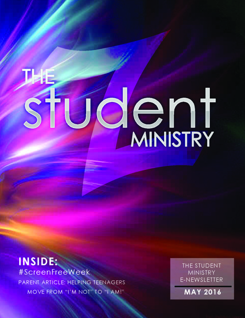 The Student Ministry eNews May 2016