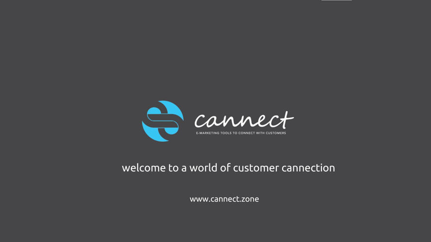 cannect with your customer E BROCHURE