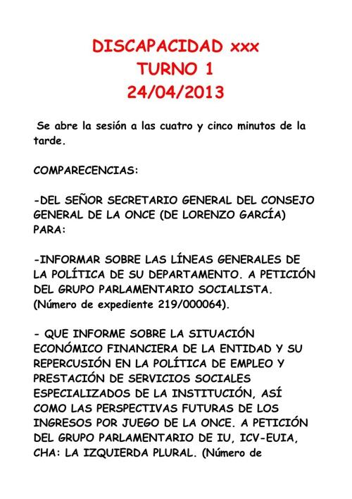 INTERVENCION EN EL CONGRESO DEL SECRETARIO GENERAL DEL CONSEJO G