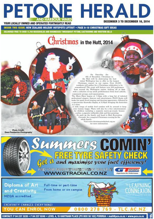 Petone Herald 3 December 2014