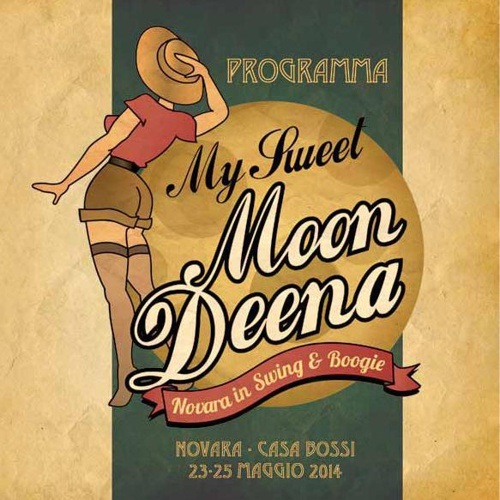 My Sweet Moon Deena 2014 Book