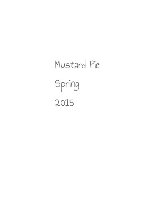Mustard Pie Spring 2015