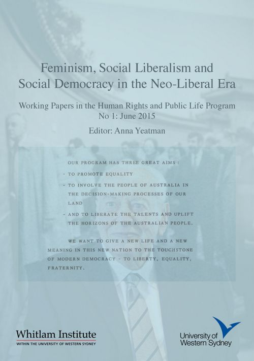 Feminism, Social Liberalism and Social Democracy