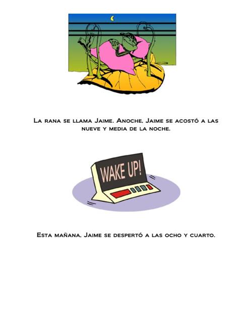 Rutina de Jaime