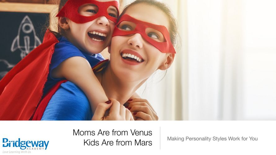 Downloads for Moms are from Venus Kids are From Mars