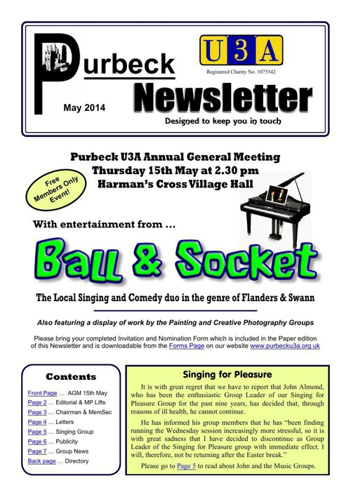 Newsletter 2014-05