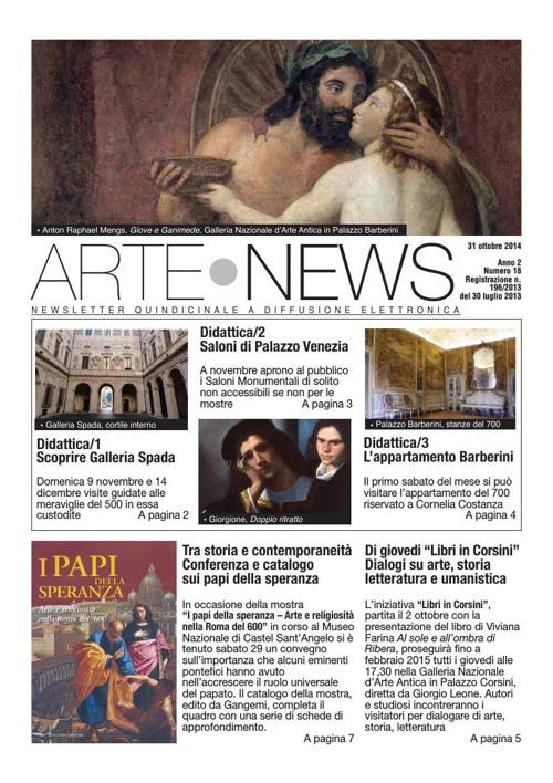 """Arte News"" - 31 ottobre 2014"