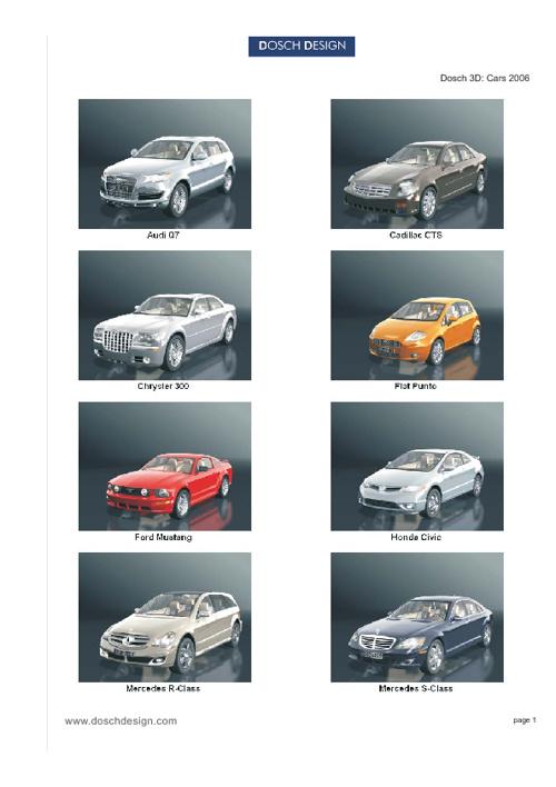 23_DOSCH 3D - Cars 2006