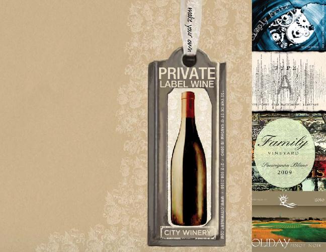 City Winery Private Label Wine