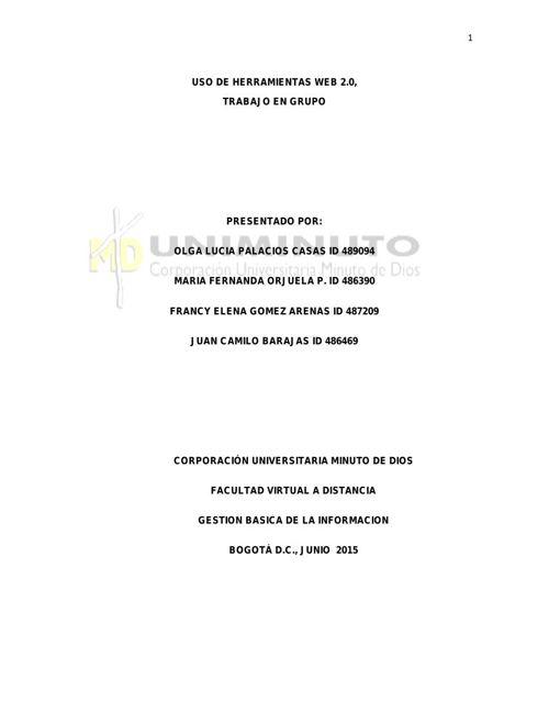 TRABAJO USO DE LAS HERRAMIENTAS- 1