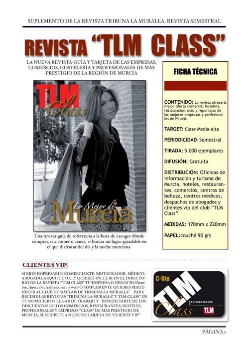 TARIFAS DE PUBLICIDAD