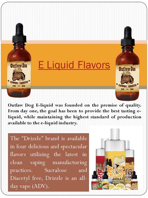 E Liquid Flavors