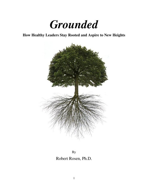 Grounded (proposal) by Robert Rosen, Ph.D.