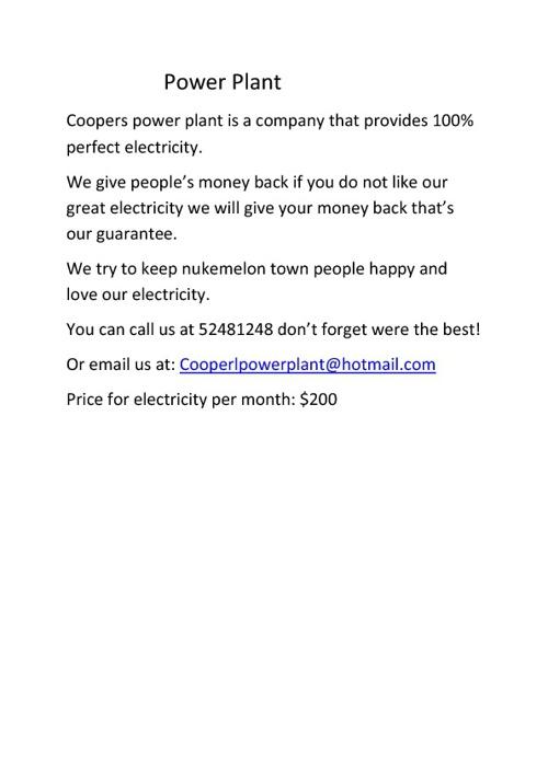 power plant flip book