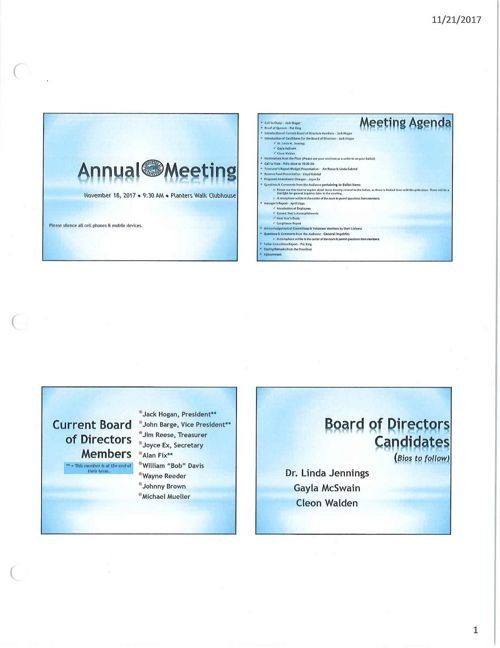 2017 Annunal Meeting PP
