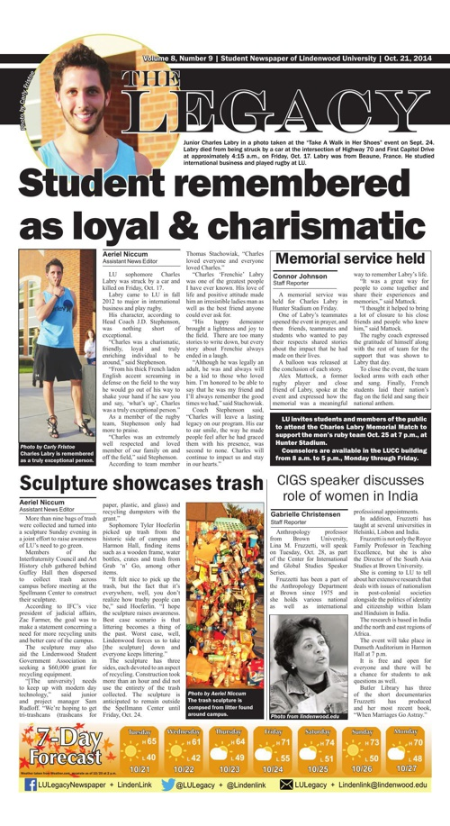 This week's issue - The Legacy