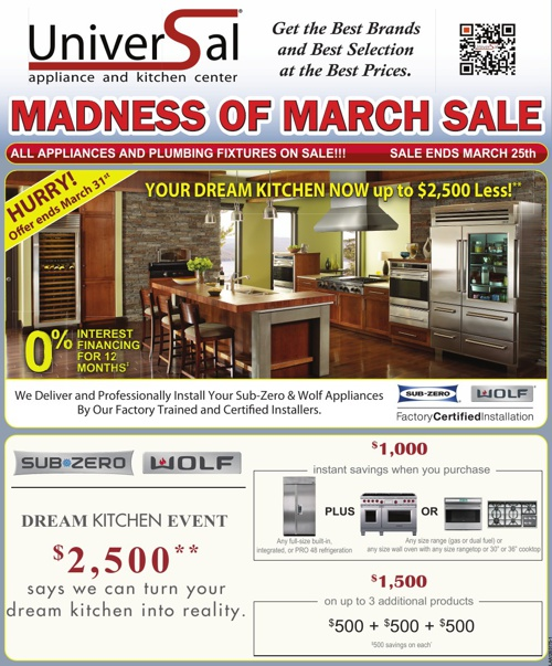 MADNESS OF MARCH SALE
